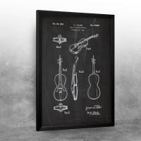 1944 Violin or Similar Article - Patent Drawing