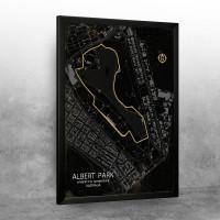 ALBERT PARK F1 staza