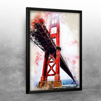 Golden Gate in Watercolor