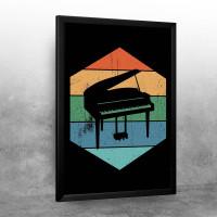Piano Retro Design