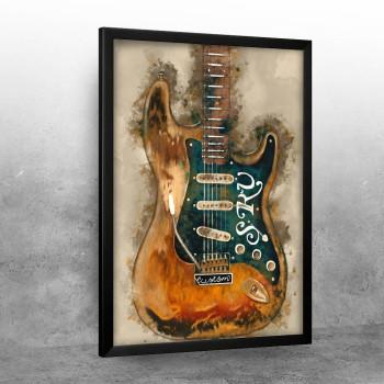 Stevie Ray Vaughan_s axe