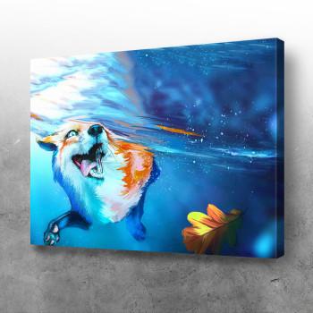 Aqua fox