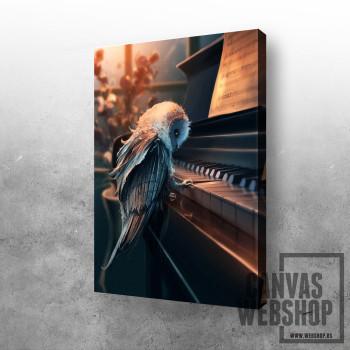 Sova za klavirom