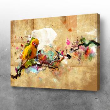 Apstraktni papagaj