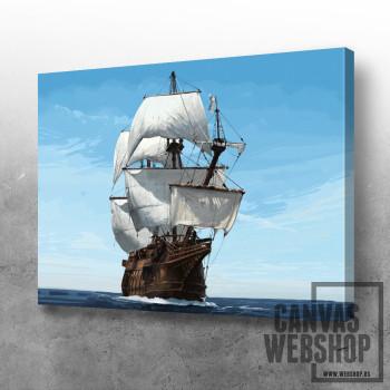 Brod na otvorenom moru