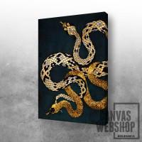 Opposite snakes