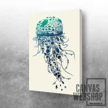 Morski svet u meduzi