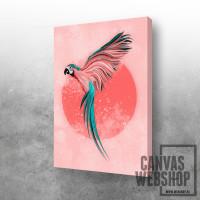 Roze papagaj