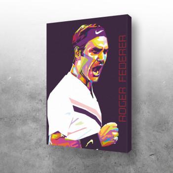 Federer art