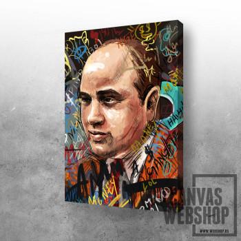 Al Capone graffiti