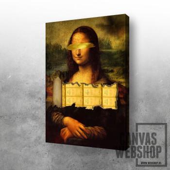 Golden Mona Lisa