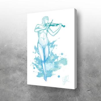 Plava violina