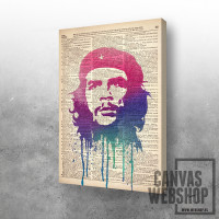 Che Guevara in newspaper