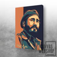 Fidel Castro Retro