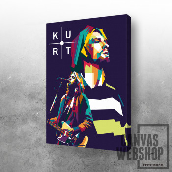 Kurt Cobain Retro