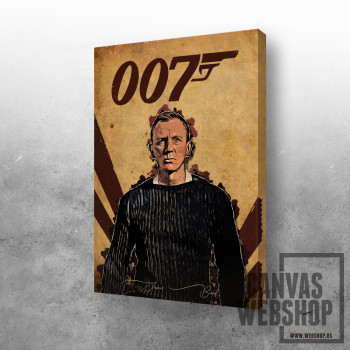 James Bond art
