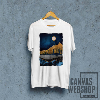 Mesec visoko na nebu