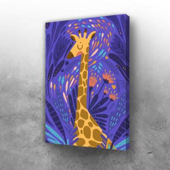 Žirafa u bojama