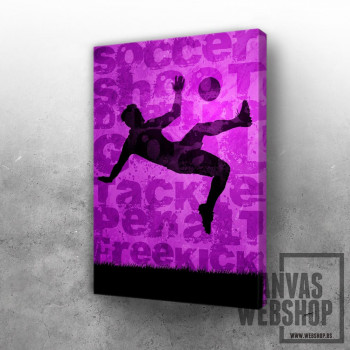 10 Soccer player Overhead kick