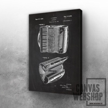 1938 Accordion - Patent Drawing