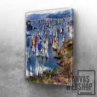 A Spectacle Of Boats