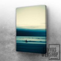 Abstract Beach Scene