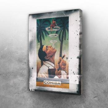 Cigar vintage poster