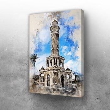 Izmir in Watercolor