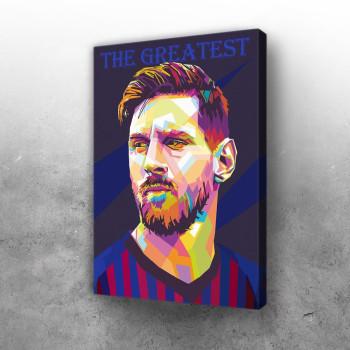 Lionel Messi Pop Art I