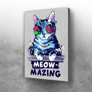 Meow mazing amazing cat