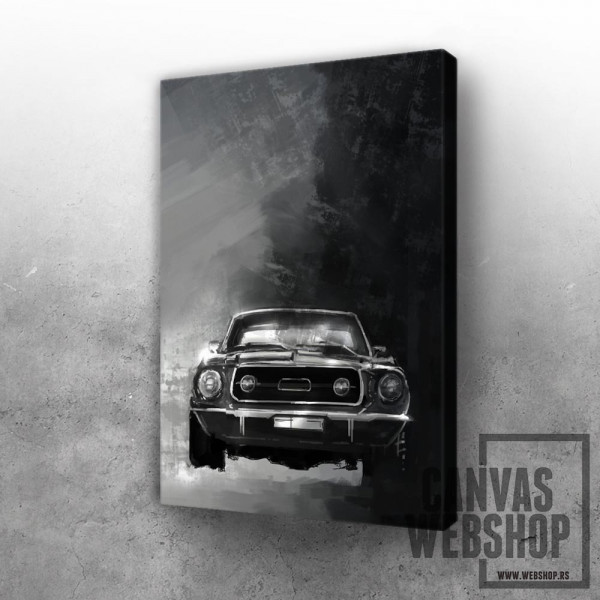 Mustang painting