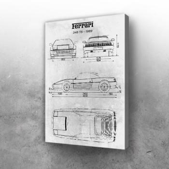 No070 Ferrari 348 TS 1989