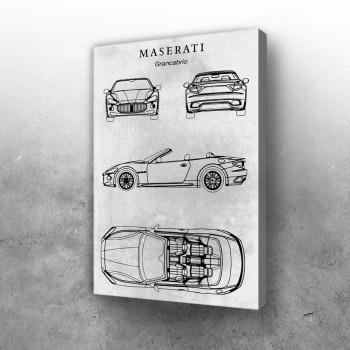 No129 Maserati Grancabrio
