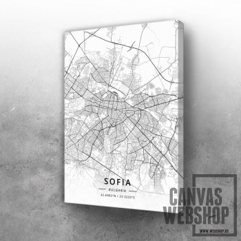 Sofija mapa - white