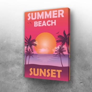 Summer Palm Beach Sunset