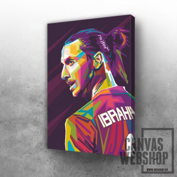 Zlatan Ibrahimovic Pop Art
